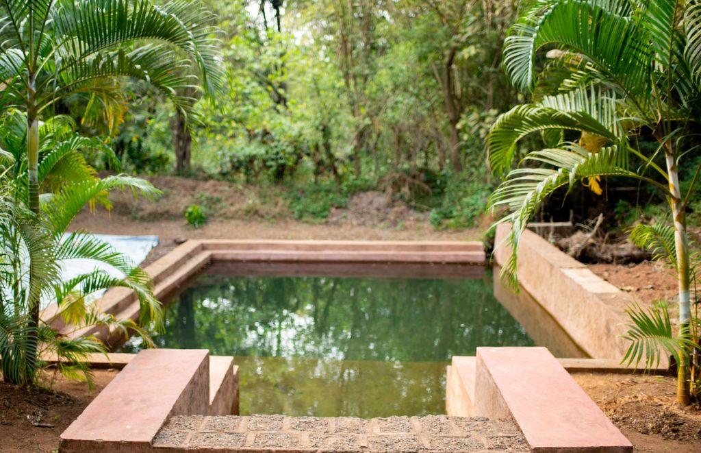 Spring pool